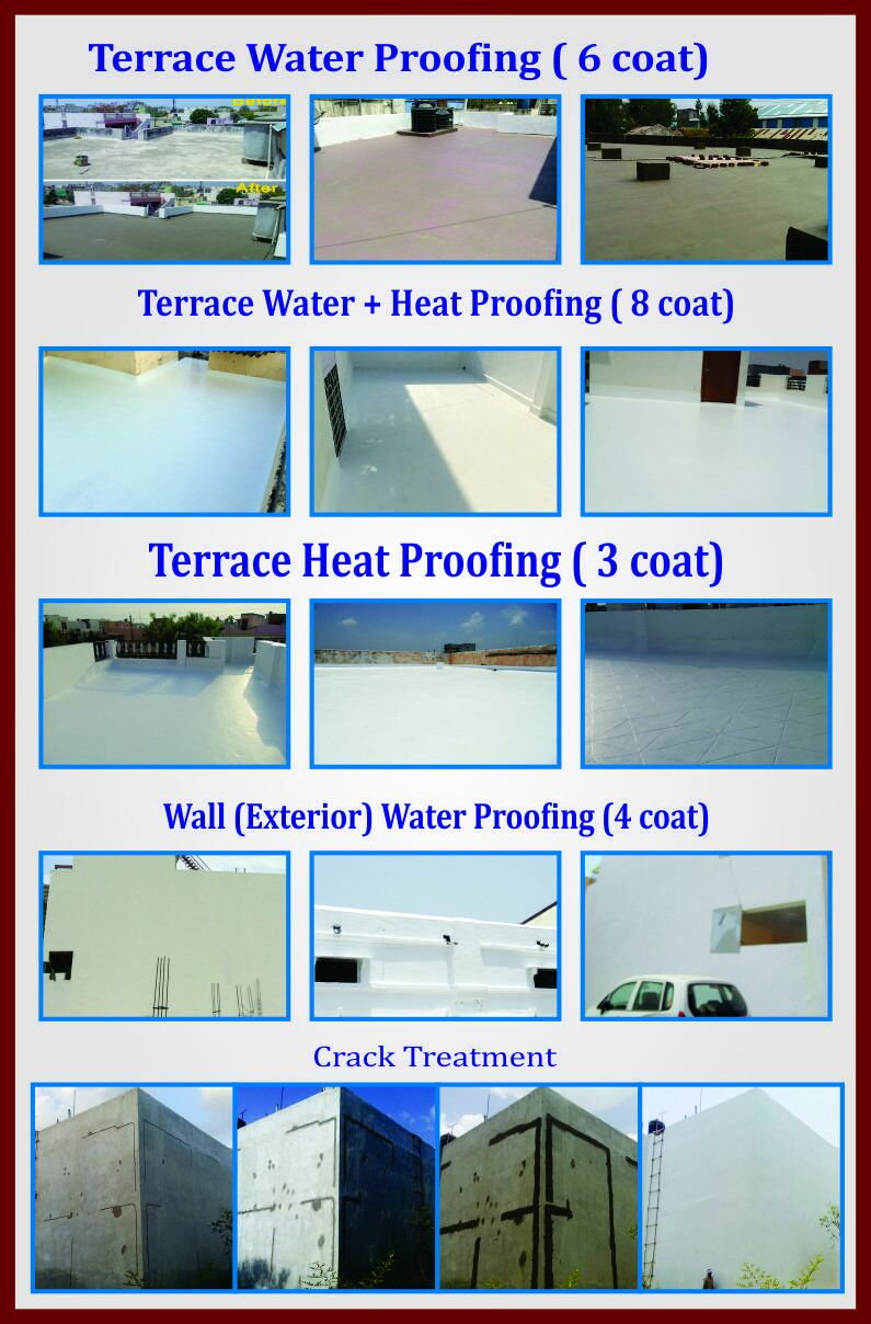 Waterproofing Contractor in Bhopal 7697252050 – Experts make